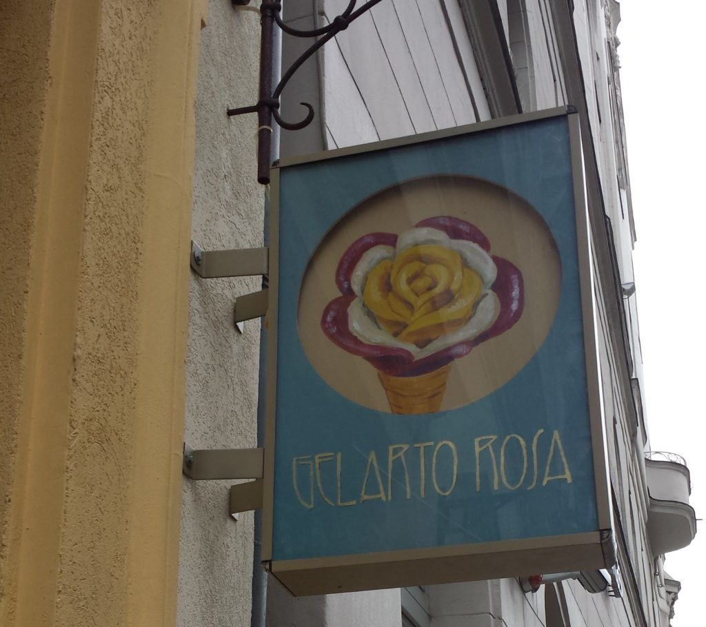Gelarto Rosa glutenfrei in Budapest