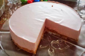 glutenfreier No Bake Cheesecake