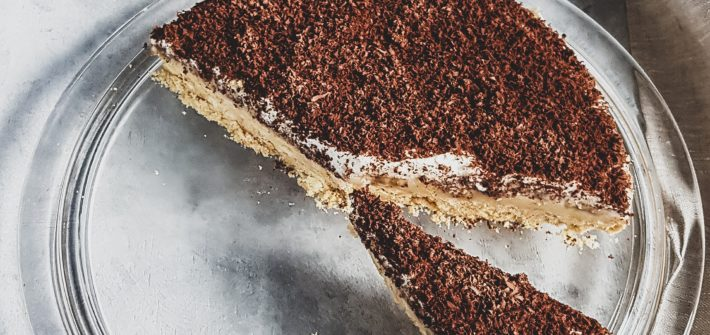 glutenfreier Banoffee Pie
