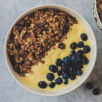 gluten free mango smoothie bowl