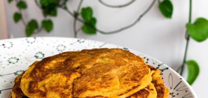 glutenfreie Kürbispancakes